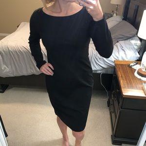 Alfani long sleeved black dress!